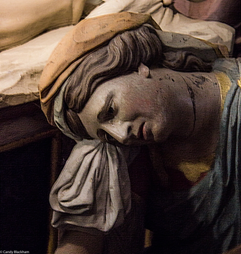 Mary Magdalene, the Entombment in St Thegonnec