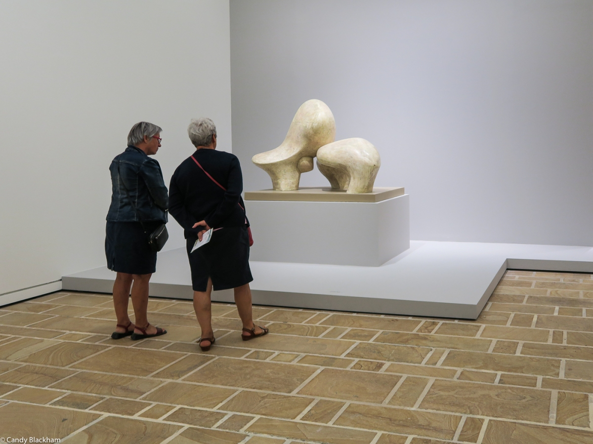 Henry Moore: Working model for Sheep piece (1971)