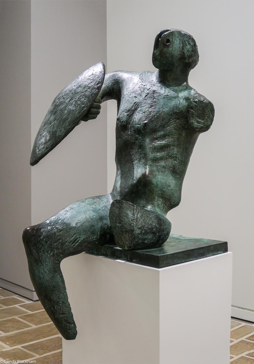 Henry Moore: Warrior (1953-54)
