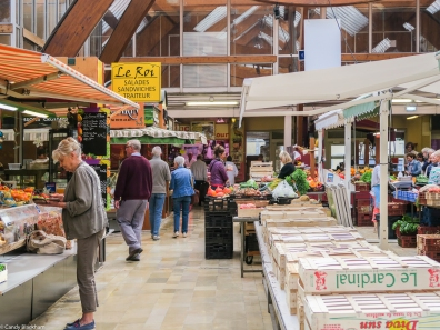 The indoor market, Quimper