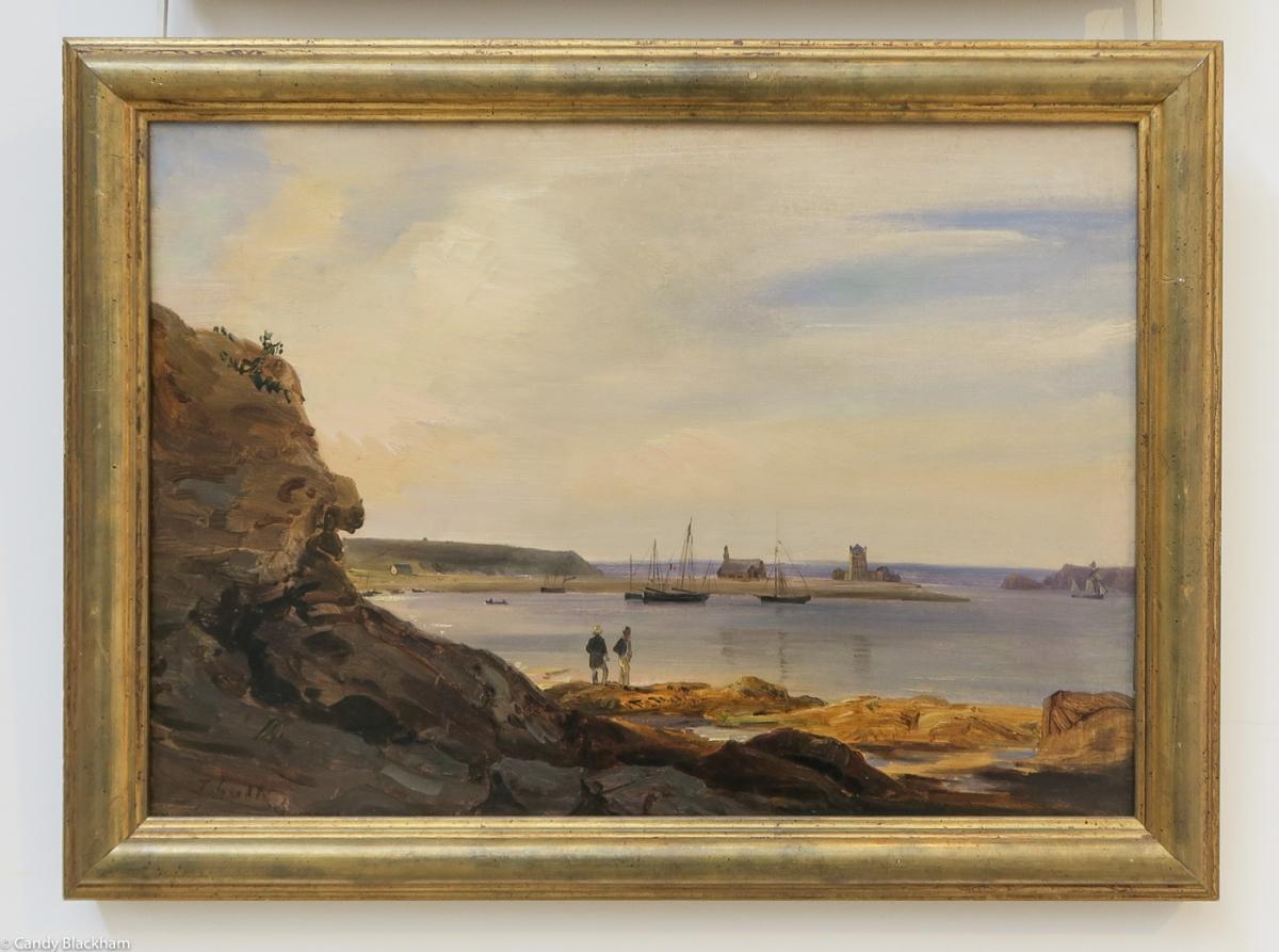 Theodore Gudin: The port at Camaret 1830)