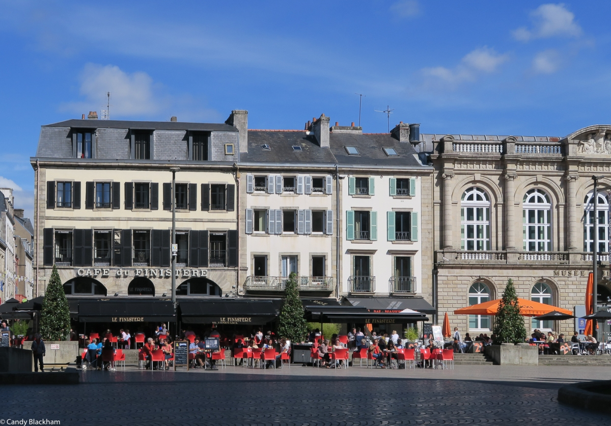 The Cathedral Square, Quimper