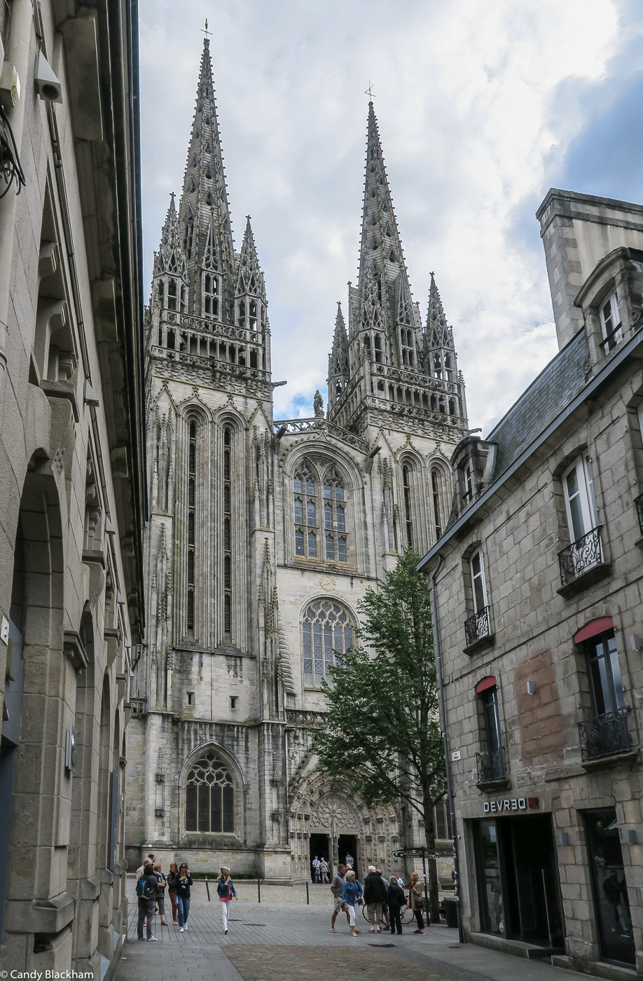 The Cathedral of St Corentin, Quimper