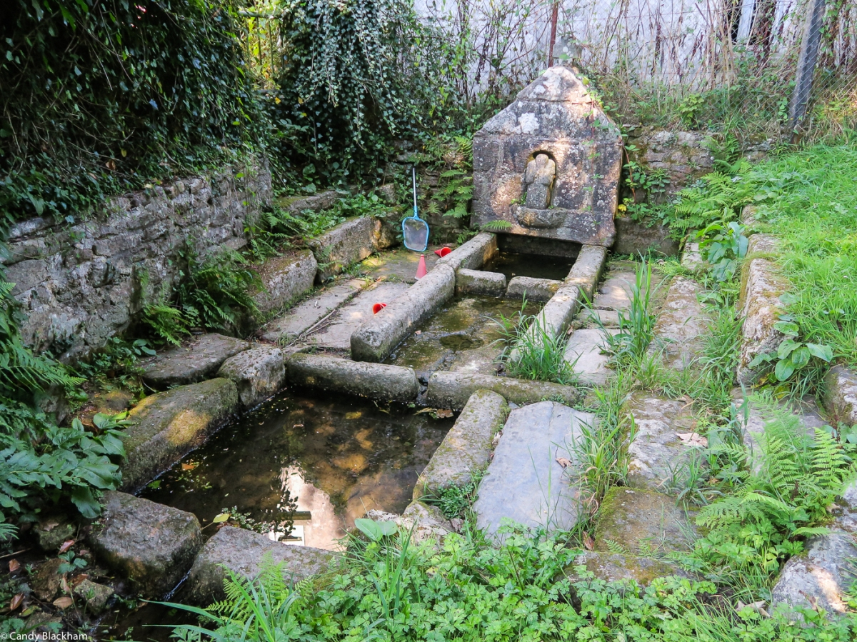 The Fountain of St John the Baptist in La Feuillee