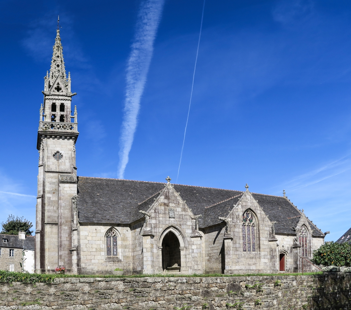 The Church of St John the Baptist in La Feuillee