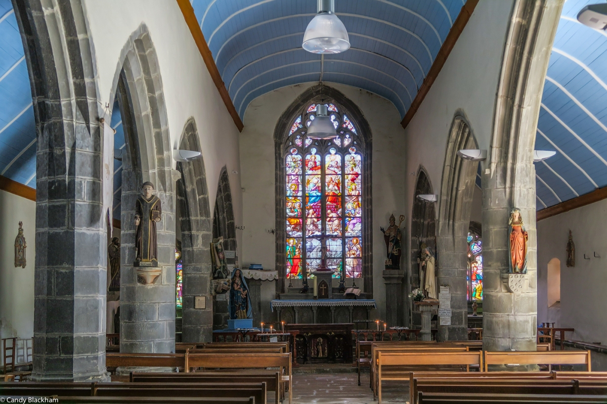 Inside The Chapel of La Fontaine Blanche