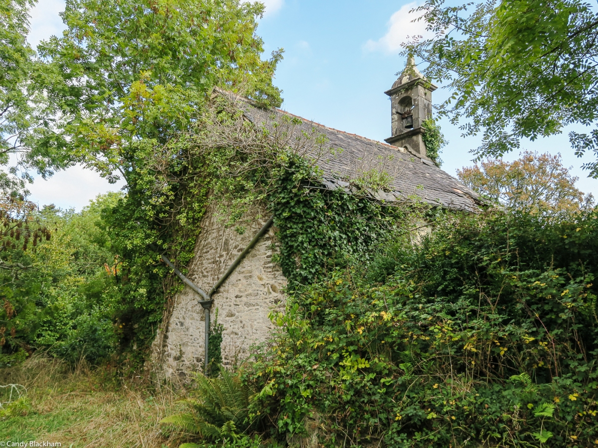 A ruined Chapel on the pilgrim route