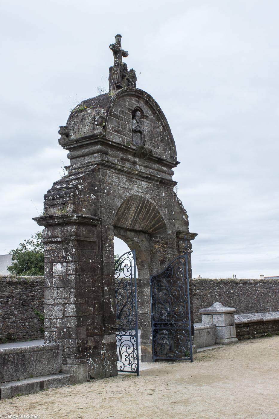 The Triumphal Arch at Pleyben
