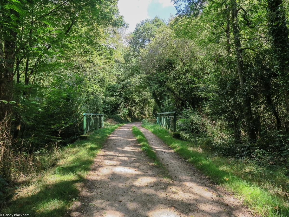 The Voie Verte along the old railway line