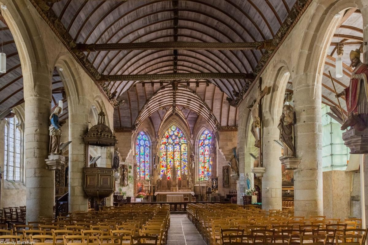 The High Altar in the Church of St Germain, Pleyben