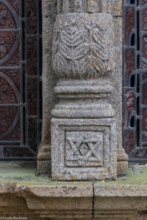 Carvings on the Ossuary of the Church of St Yves, La Roche-Maurice