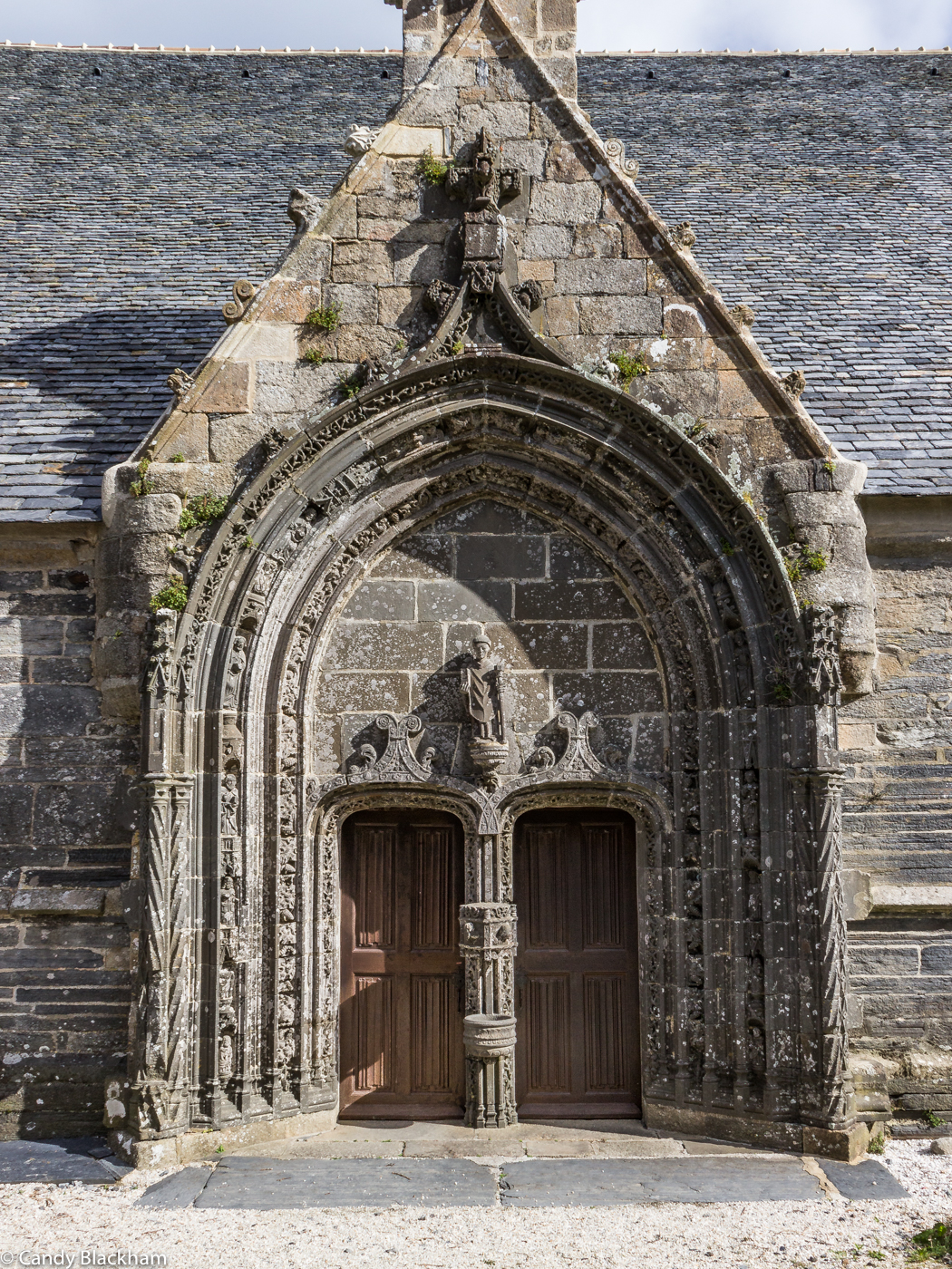 The South Porch of the Church of St Yves, La Roche-Maurice
