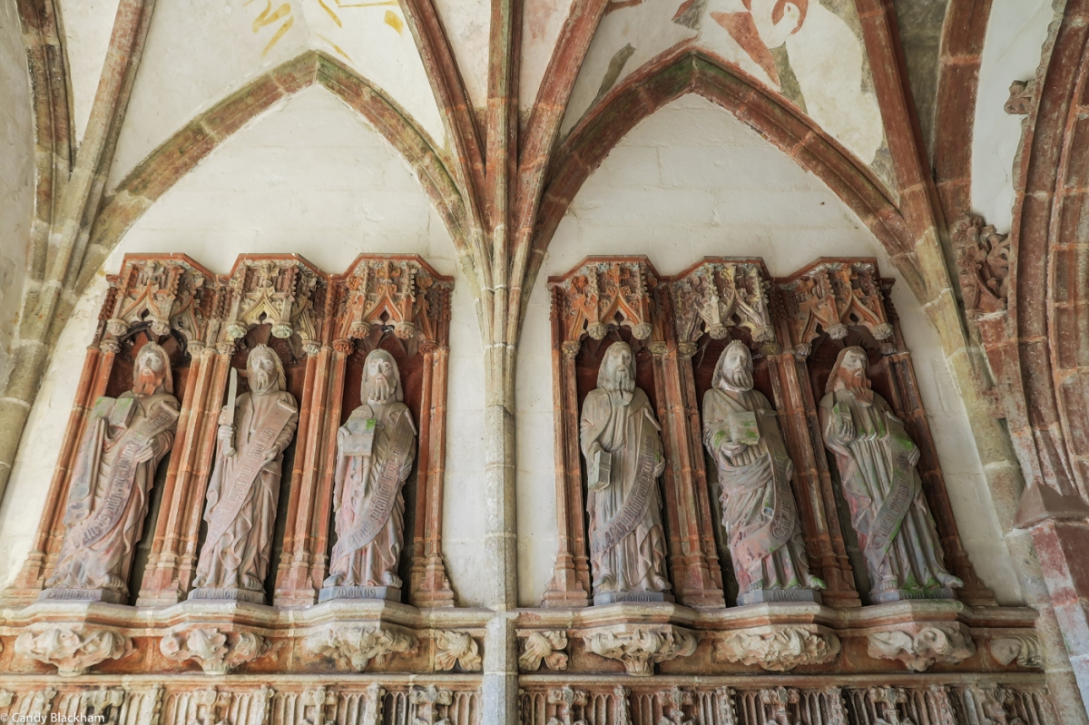 The Apostles in the South Porch of St Herbot