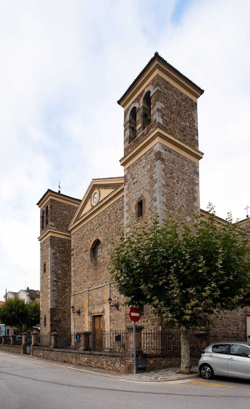 The new Church of San Vicente