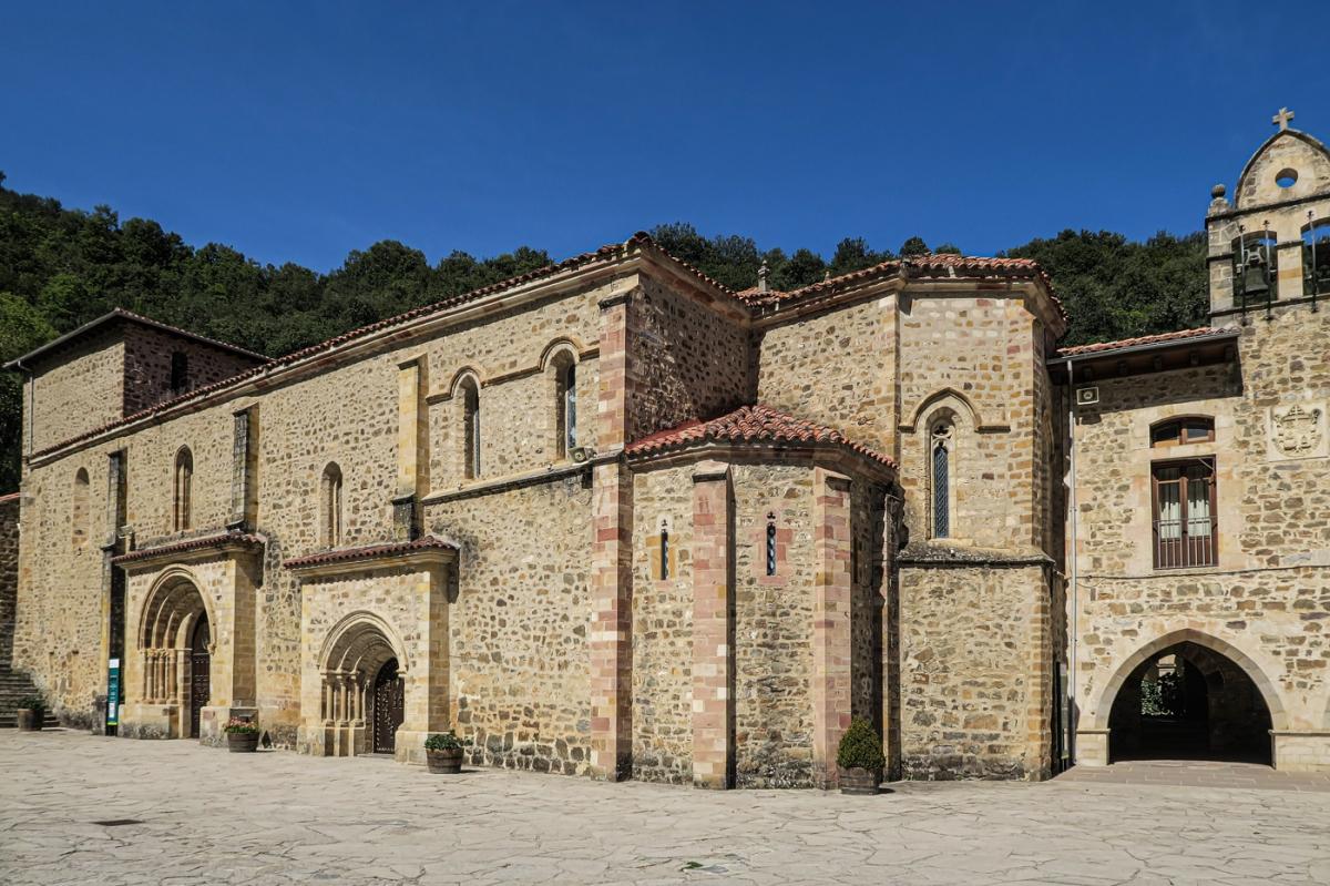 The Church of the Monastery of San Toribio
