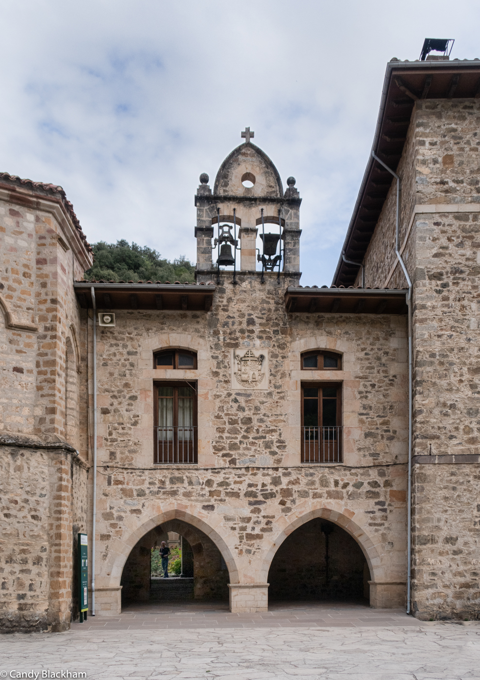 The entrance to the Cloister at San Toribio