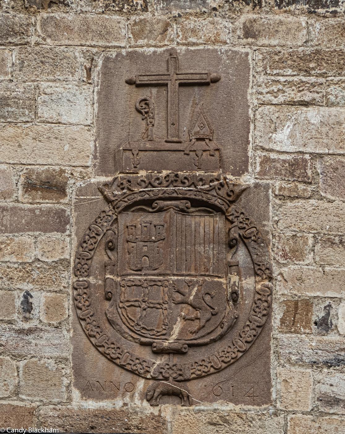 The Coat of Arms above the monastery door