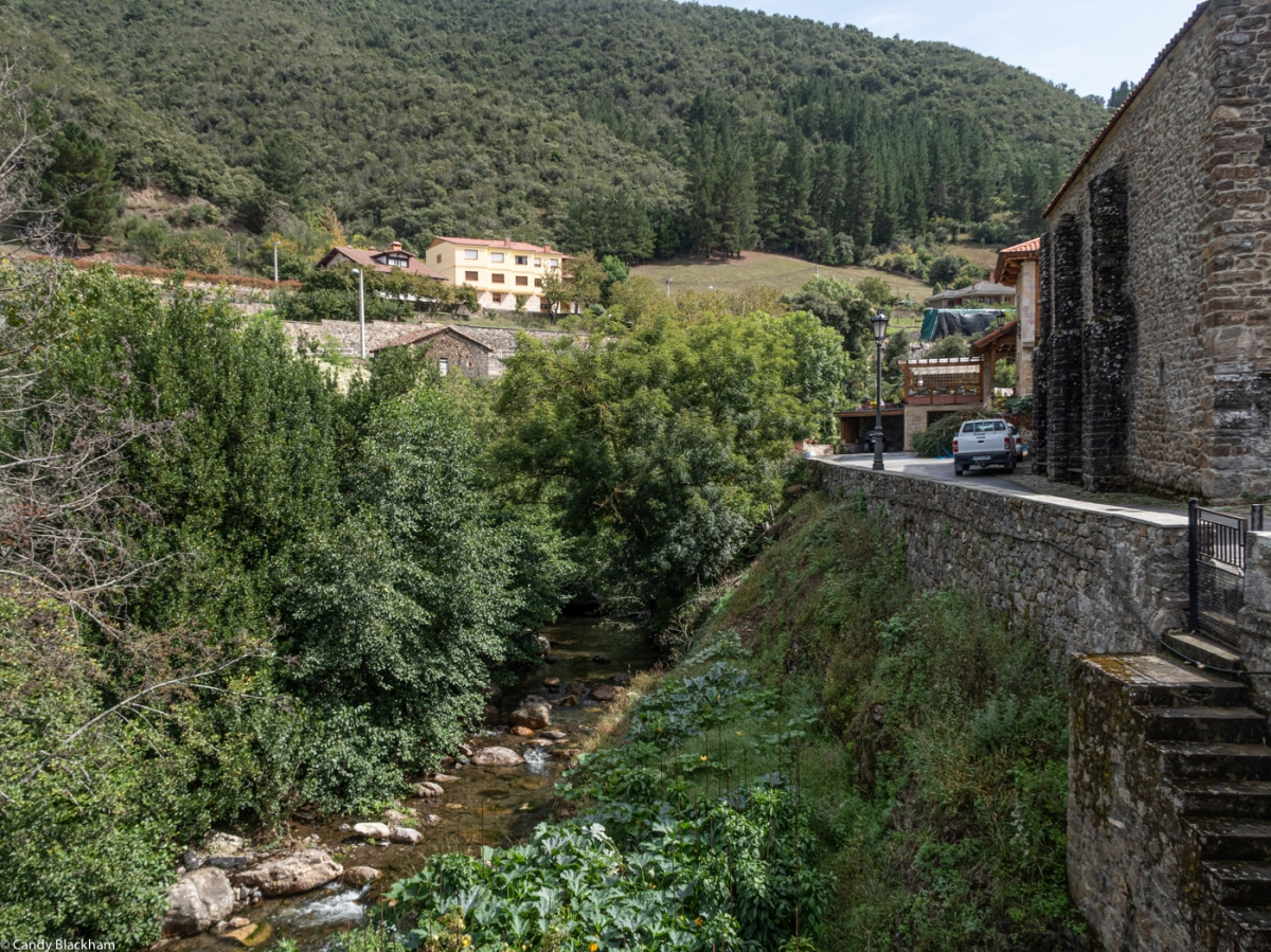 The River Bullon under the Church at Frama