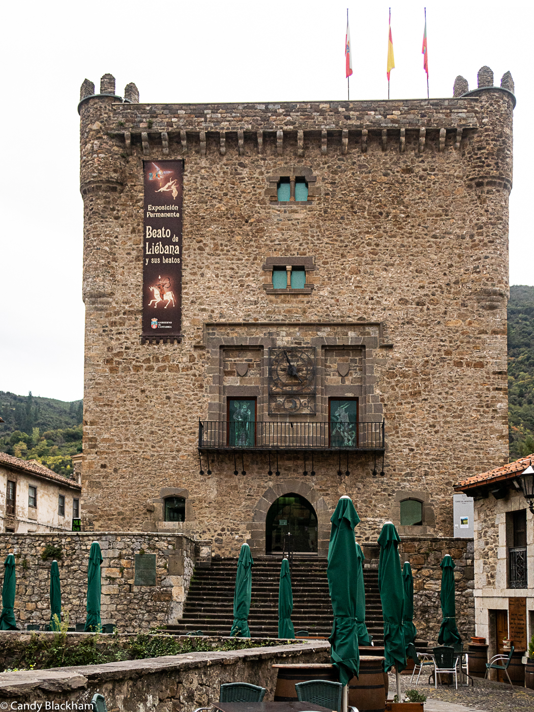 The Tower of the Inrantado in Potes