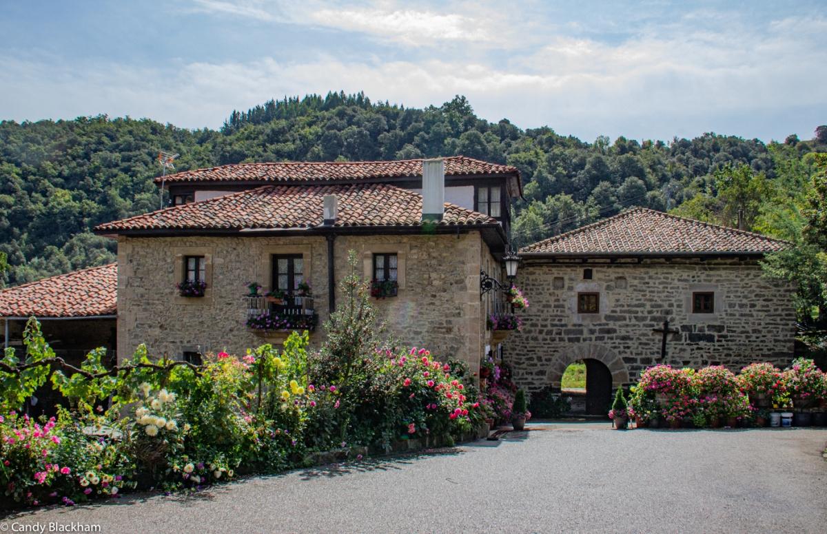 The entrance to Santa Maria de Piasca