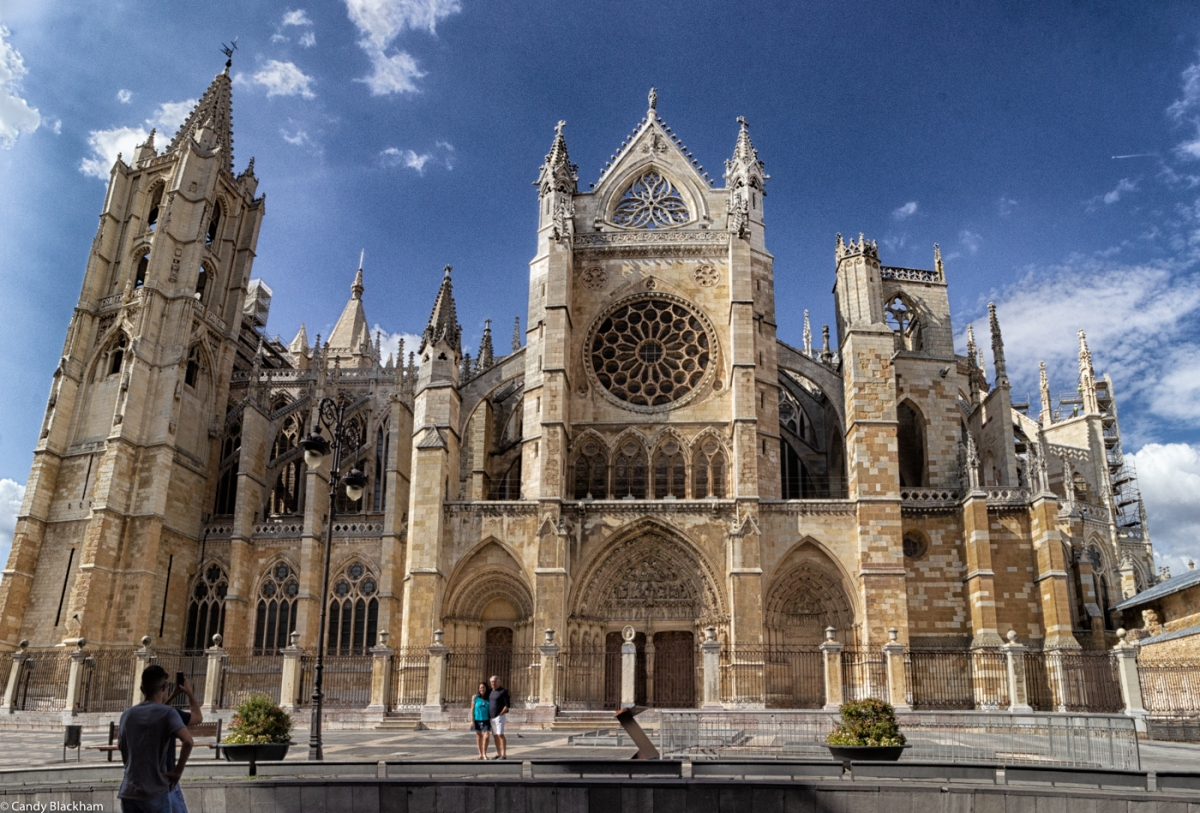 The South Facade of the Cathedral of Leon