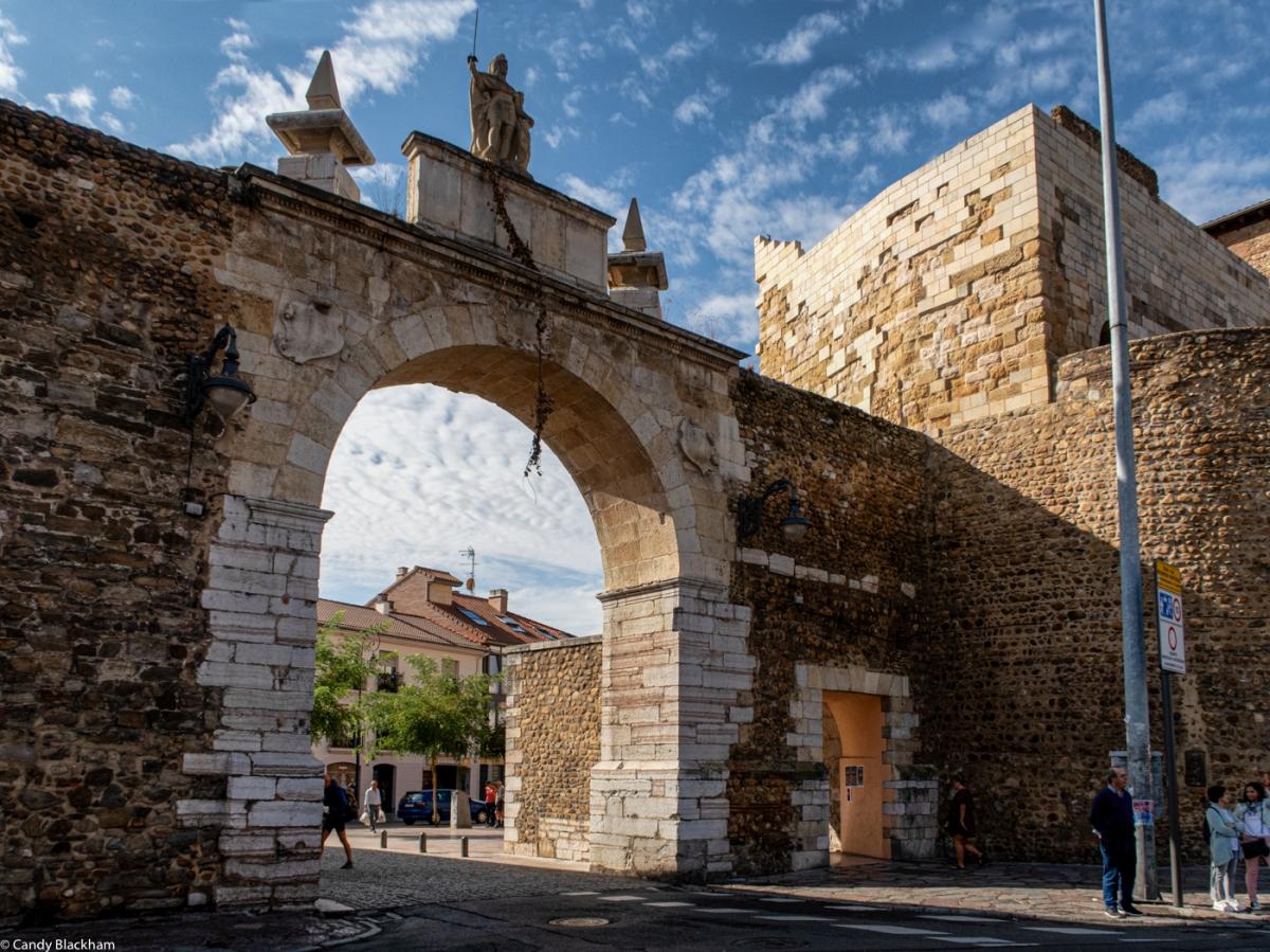 The Puerta Castillo, Leon