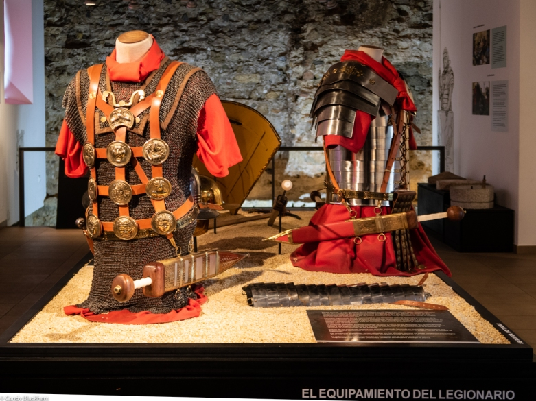 The uniform of Roman soldiers